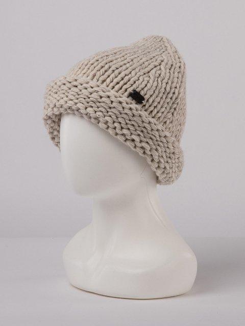 Бежевая шапка Gracia - 899.00 руб
