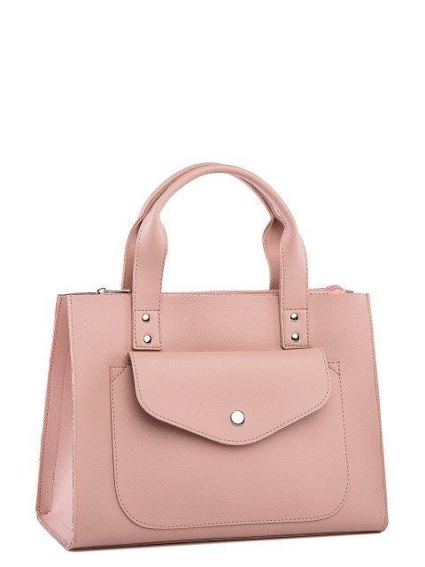 Розовая сумка классическая S.Lavia (Славия) - артикул: 1223 94 42 - ракурс 1
