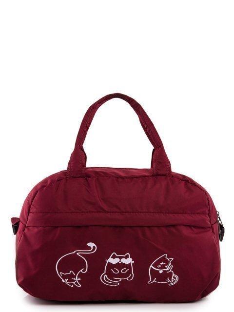 Бордовая дорожная сумка Across - 899.00 руб