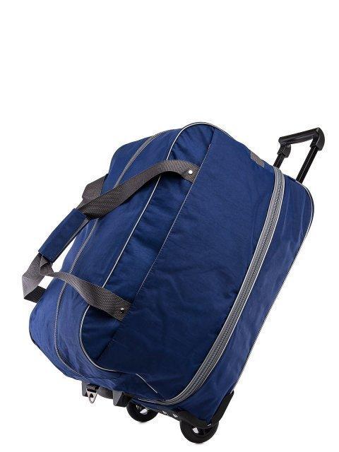 Синий чемодан Lbags (Эльбэгс) - артикул: 0К-00027778 - ракурс 4