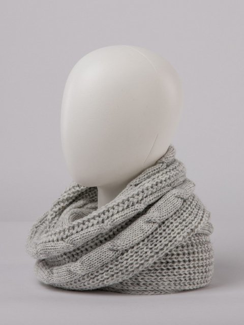 Серый капор Анжелика - 899.00 руб