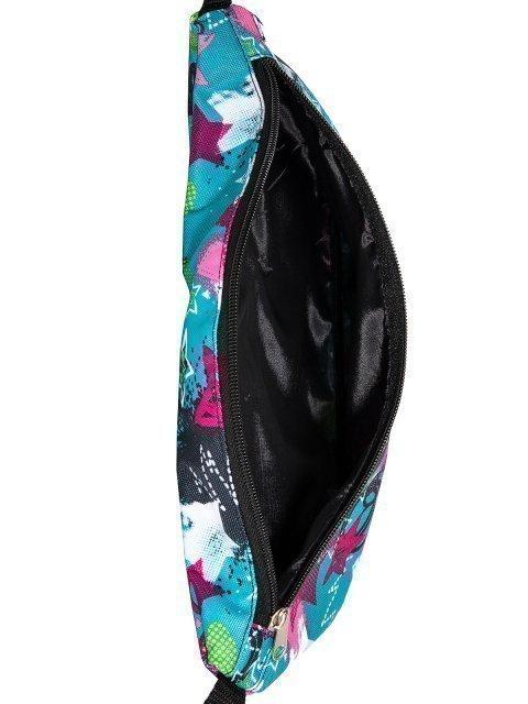 Голубая сумка на пояс Lbags (Эльбэгс) - артикул: 0К-00027786 - ракурс 4