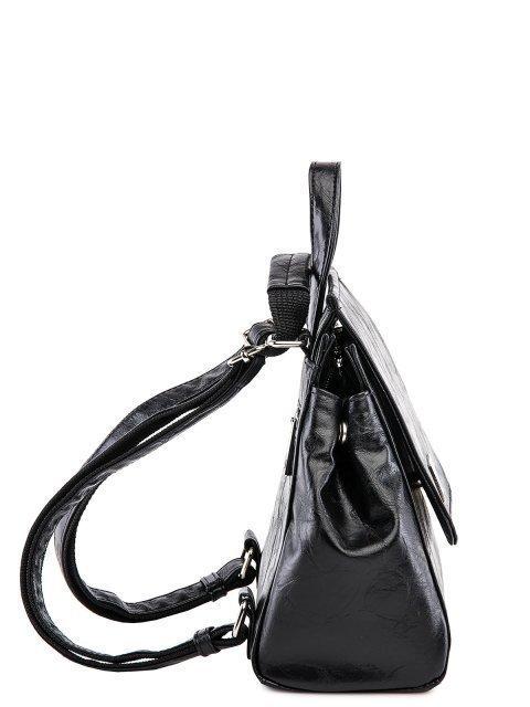 Чёрный рюкзак S.Lavia (Славия) - артикул: 877 048 01 - ракурс 2