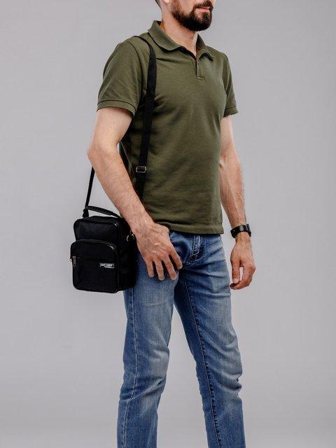 Чёрная сумка планшет S.Lavia (Славия) - артикул: 0К-00002585 - ракурс 5