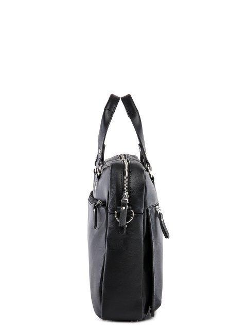 Чёрная сумка классическая S.Lavia (Славия) - артикул: 0055 10 01 - ракурс 2
