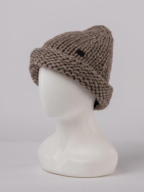 Коричневая шапка Gracia - 899.00 руб