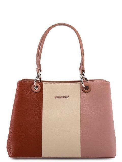 Розовая сумка классическая David Jones - 3199.00 руб