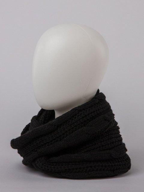 Чёрный капор Анжелика - 770.00 руб