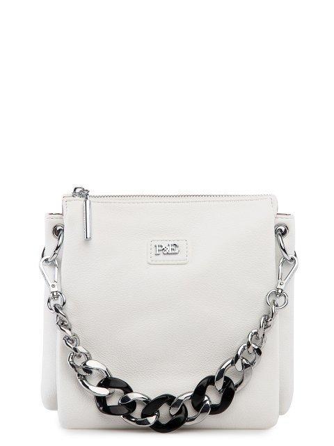 Белая сумка планшет Polina - 3837.00 руб