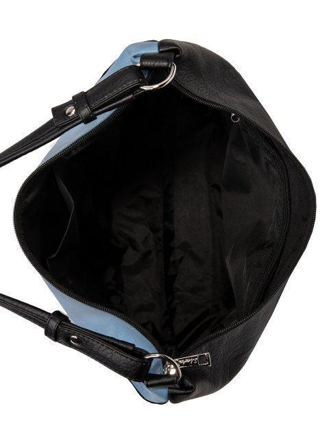 Чёрная сумка мешок S.Lavia (Славия) - артикул: 1187 601 01  - ракурс 4