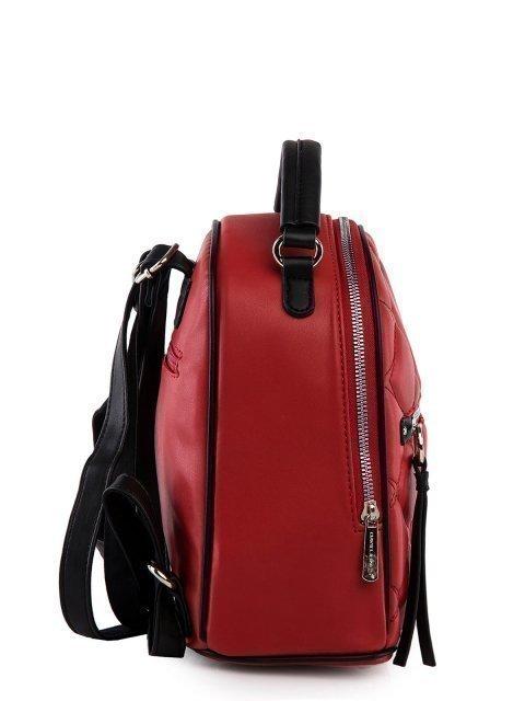 Красный рюкзак David Jones (Дэвид Джонс) - артикул: 0К-00025963 - ракурс 2