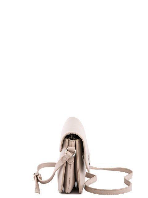 Бежевая сумка планшет David Jones (Дэвид Джонс) - артикул: 0К-00026148 - ракурс 2