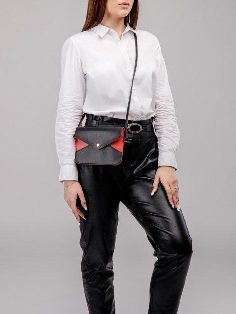 Чёрная сумка планшет S.Lavia (Славия) - артикул: 1132 89 01-04 - ракурс 6