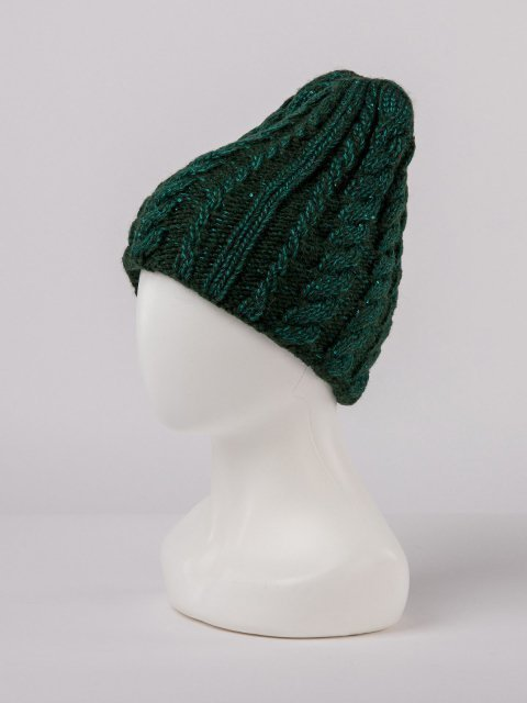 Зелёная шапка Gracia - 899.00 руб