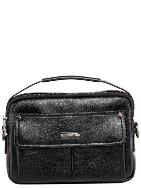 Чёрная сумка планшет Bradford - 2597.00 руб