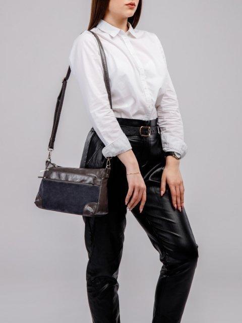 Серая сумка планшет S.Lavia (Славия) - артикул: 1130 99 51 - ракурс 5