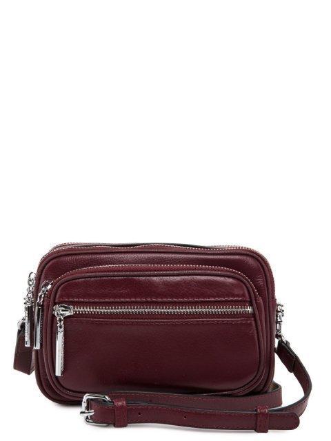 Бордовая сумка планшет Polina - 4678.00 руб