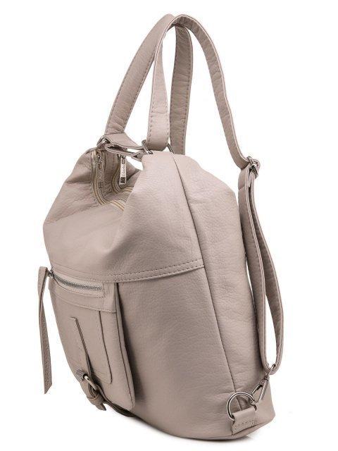 Бежевая сумка мешок S.Lavia (Славия) - артикул: 775 601 20 - ракурс 4