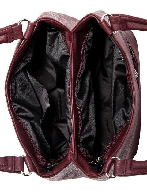 Бордовая сумка классическая S.Lavia (Славия) - артикул: 1176 860 03 - ракурс 4
