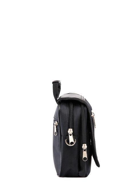 Чёрная сумка планшет S.Lavia (Славия) - артикул: 0К-00002592 - ракурс 2