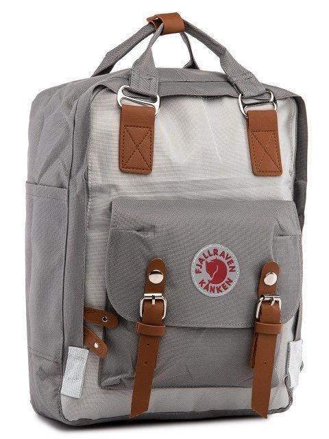 Серый рюкзак Kanken (Kanken) - артикул: 0К-00029025 - ракурс 1