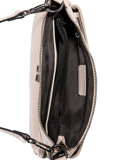 Бежевая сумка планшет Polina (Полина) - артикул: 0К-00027770 - ракурс 4