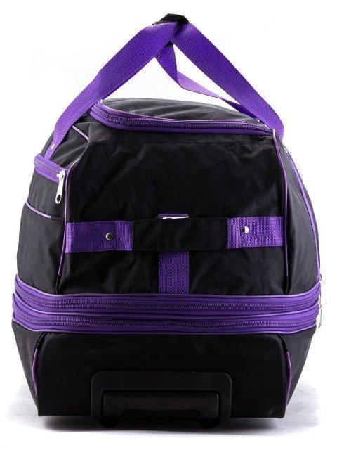 Чёрный чемодан Lbags (Эльбэгс) - артикул: К0000013247 - ракурс 4