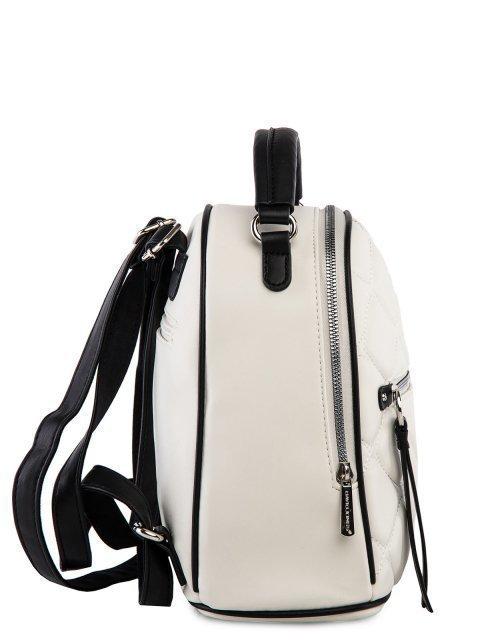 Белый рюкзак David Jones (Дэвид Джонс) - артикул: 0К-00025966 - ракурс 2