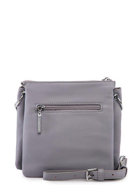 Серая сумка планшет Polina (Полина) - артикул: 0К-00027760 - ракурс 3