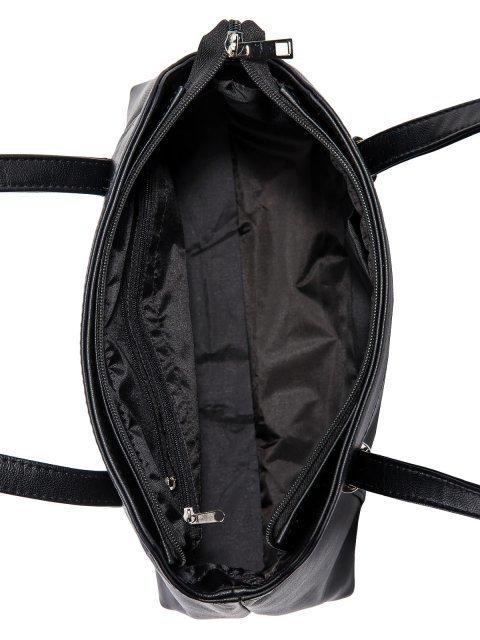 Чёрная сумка классическая S.Lavia (Славия) - артикул: 1139 901 01 - ракурс 4