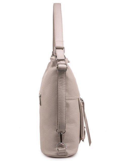Бежевая сумка мешок S.Lavia (Славия) - артикул: 775 601 20 - ракурс 2