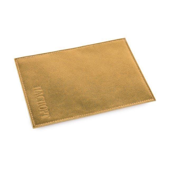 Золотая обложка для документов Кайман - 299.00 руб
