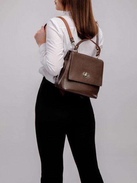 Коричневый рюкзак S.Lavia (Славия) - артикул: 0085 12 02 (комб.12 22)  - ракурс 5