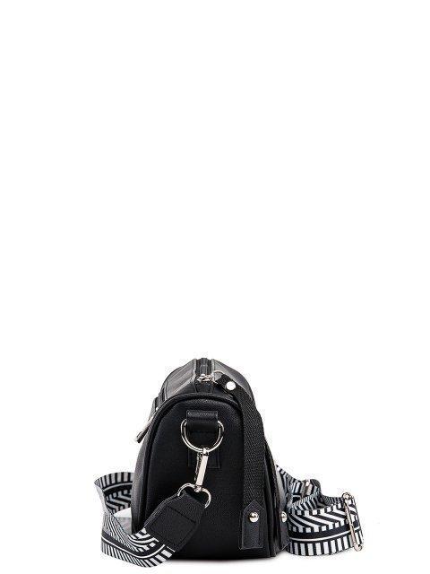 Чёрная сумка планшет S.Lavia (Славия) - артикул: 1201 910 01 - ракурс 2
