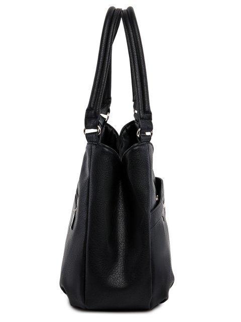 Чёрная сумка классическая S.Lavia (Славия) - артикул: 1176 860 01 - ракурс 2