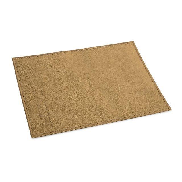 Золотая обложка для документов Кайман - 256.00 руб