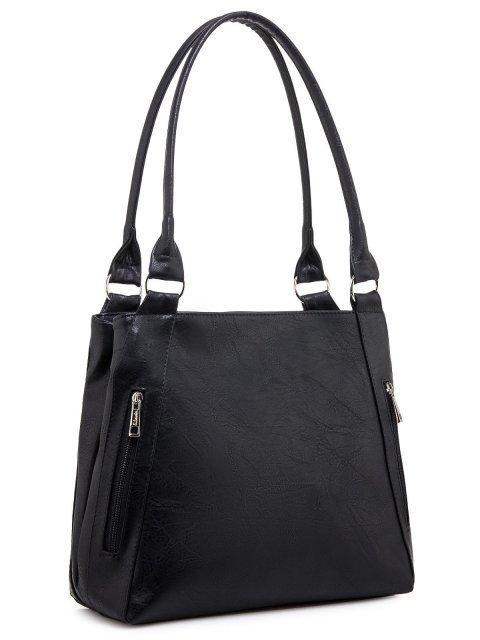 Чёрная сумка классическая S.Lavia (Славия) - артикул: 047 512 01 - ракурс 1
