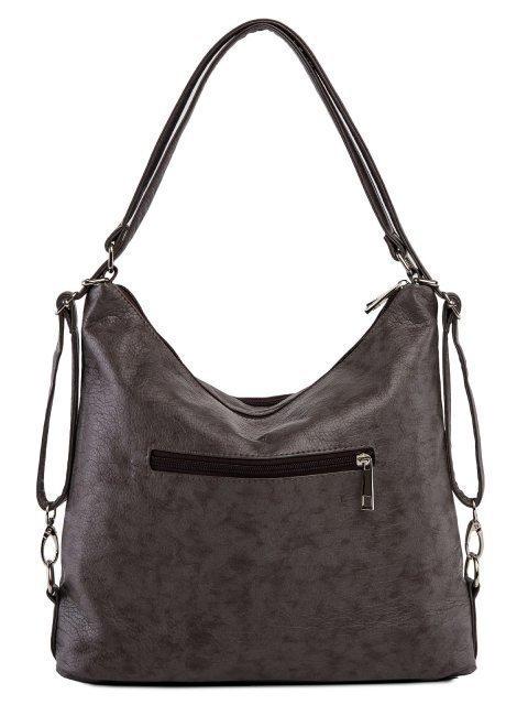 Коричневая сумка мешок S.Lavia (Славия) - артикул: 962 601 12 - ракурс 3