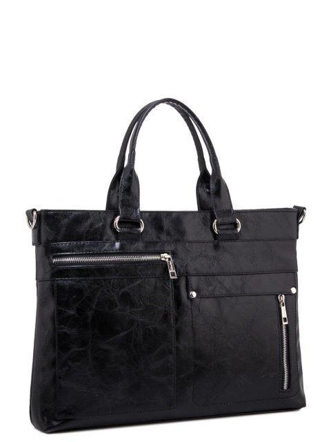 Чёрная сумка классическая S.Lavia (Славия) - артикул: 355 048 01 - ракурс 1