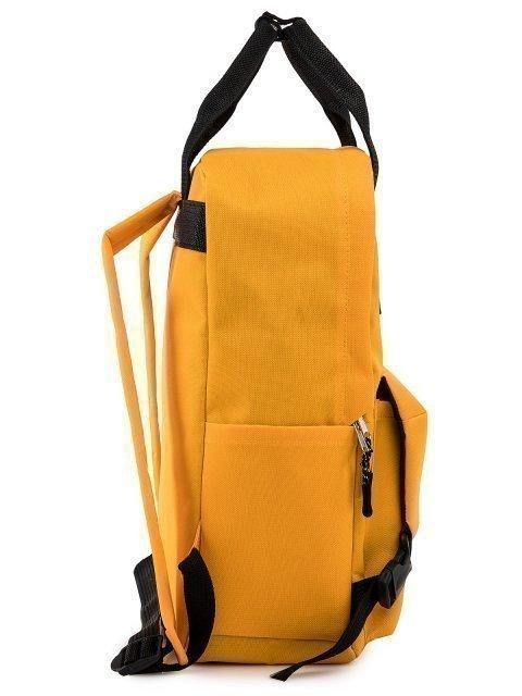 Жёлтый рюкзак S.Lavia (Славия) - артикул: 00-109 000 55 - ракурс 2