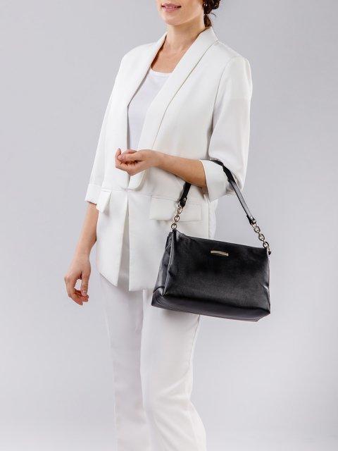 Чёрная сумка планшет S.Lavia (Славия) - артикул: 0031 12 01 - ракурс 6