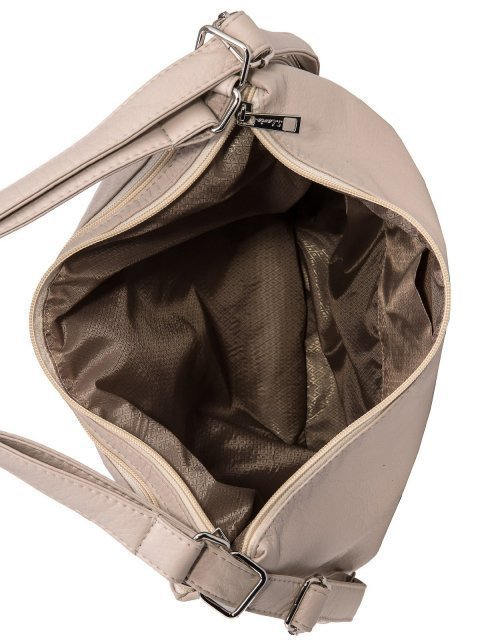 Бежевая сумка мешок S.Lavia (Славия) - артикул: 775 601 20 - ракурс 5