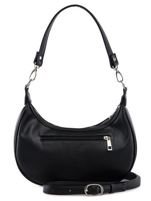 Чёрная сумка мешок S.Lavia (Славия) - артикул: 1237 99 01 - ракурс 3