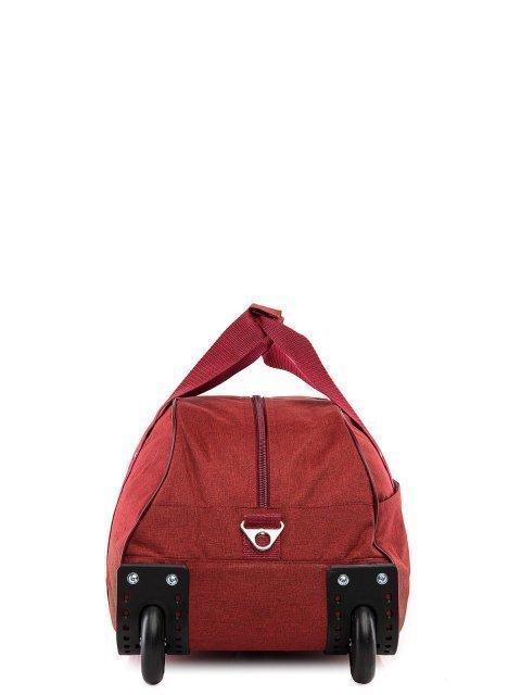 Бордовый чемодан Lbags (Эльбэгс) - артикул: К0000020770 - ракурс 2