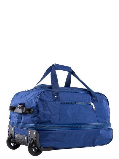 Синий чемодан Lbags (Эльбэгс) - артикул: К0000013233 - ракурс 1