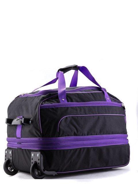 Чёрный чемодан Lbags (Эльбэгс) - артикул: К0000013247 - ракурс 1