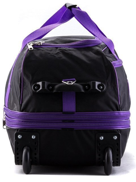 Чёрный чемодан Lbags (Эльбэгс) - артикул: К0000013247 - ракурс 2