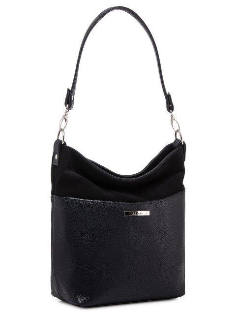 Чёрная сумка планшет S.Lavia (Славия) - артикул: 1071 99 01 - ракурс 3