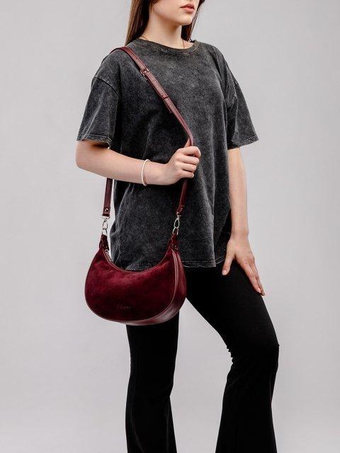Чёрная сумка мешок S.Lavia (Славия) - артикул: 1237 99 01 - ракурс 6