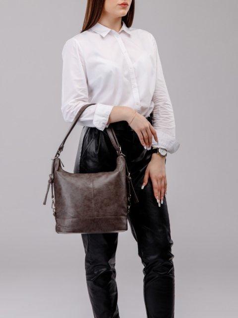 Чёрная сумка мешок S.Lavia (Славия) - артикул: 869 601 01 - ракурс 5